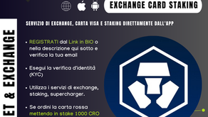 Crypto.com - Compra, spendi e staking