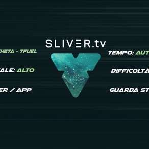 Sliver e Theta - Guadagna Guardando Game streaming