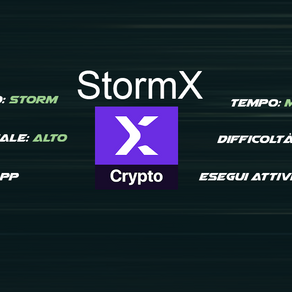 StormX - Accumula STMX con diverse attività