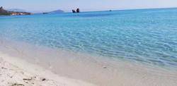 foto dalla spiaggia