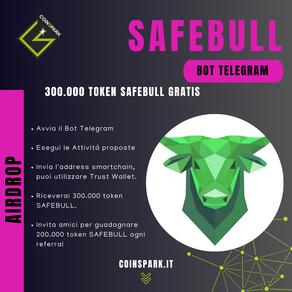 SefeBull - 300.000 SAFEBULL Gratis