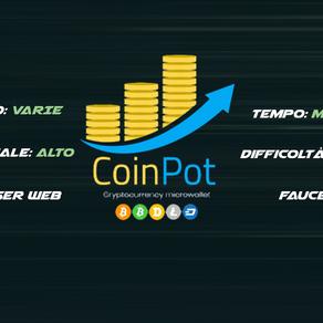 CoinPot - Guadagna Crypto nel Tempo
