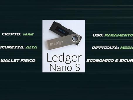Wallet Fisici - Ledger Nano S
