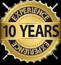 10 años de experiencia, uniformes express, camsetas expess