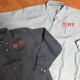 Camisa y blusa de vestir para oficina