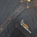 Camisa de mezclilla con bordado