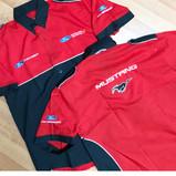 Camisa tipo Racing y bordado con aplicacion