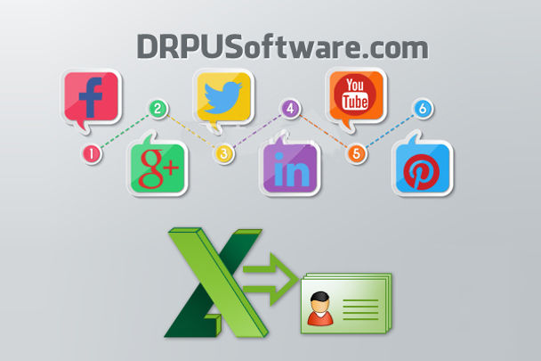 Usage of vCards in Social Networking Sites: Convert Excel