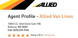 Allied Van Lines BV 2018