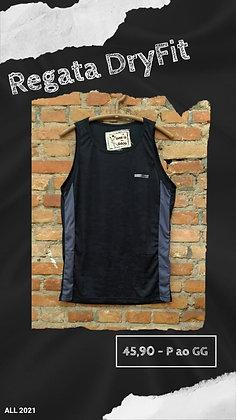 Regata dryfit black camuflada