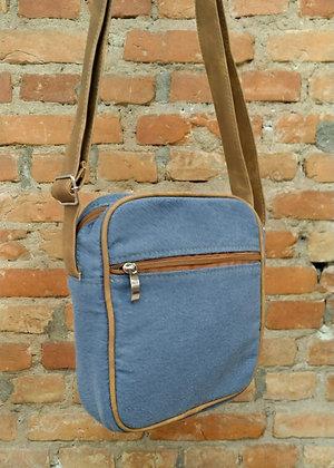 Shoulder bag light blue - P