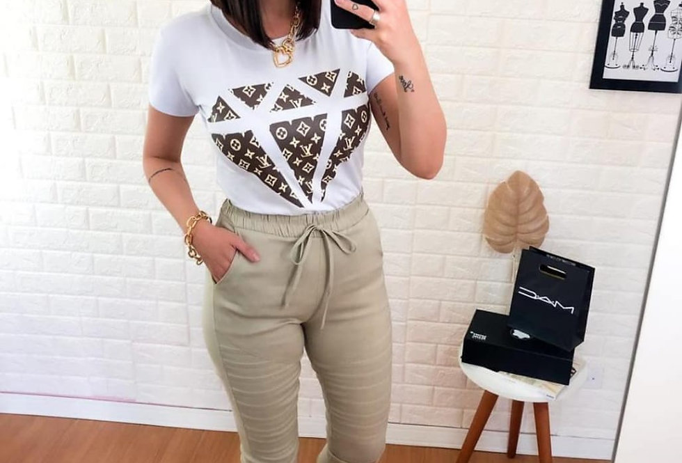 Tshirt diamante