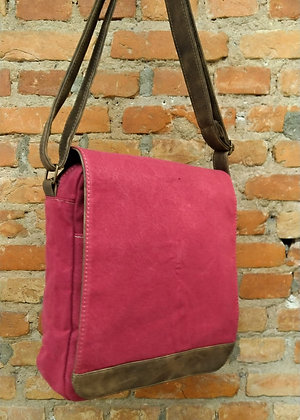 Bag transversal vermelha - M