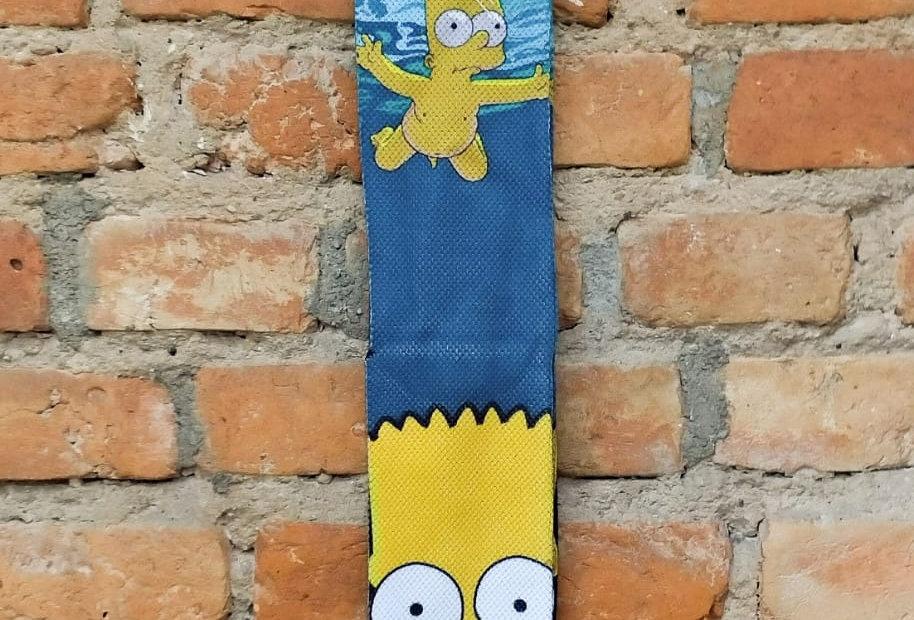 Meia Bart Simpson