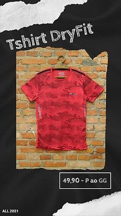 Tshirt dryfit vermelha
