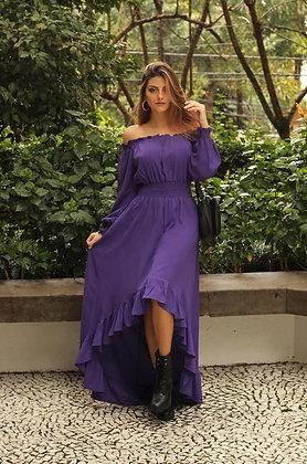 Vestido Ciganinha Mullet