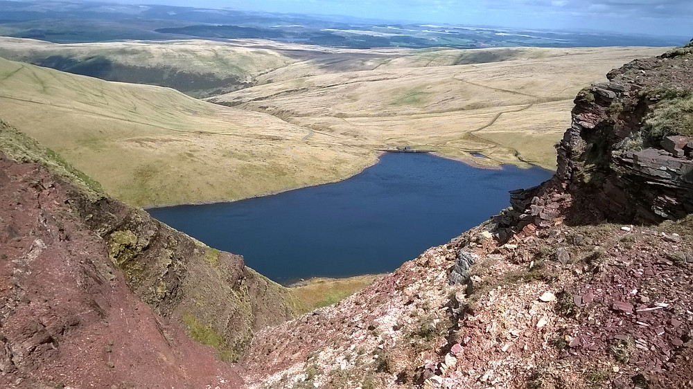 View of Llyn y Fan Fach (c) Kevan Manwaring