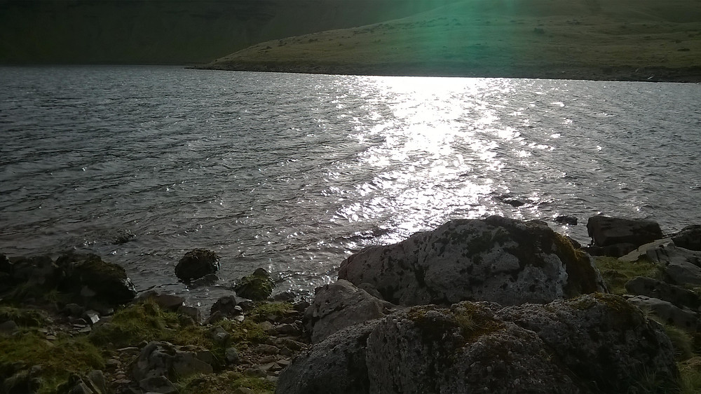 Light on Llyn y Fan Fach (c) Kevan Manwaring