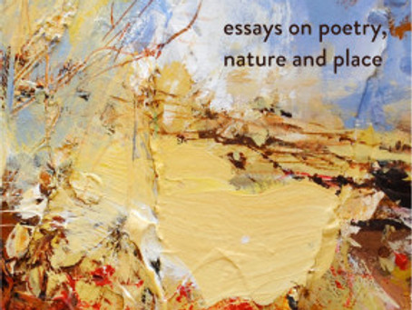 New Book by Jeremy Hooker about Poetry, Nature, and Place