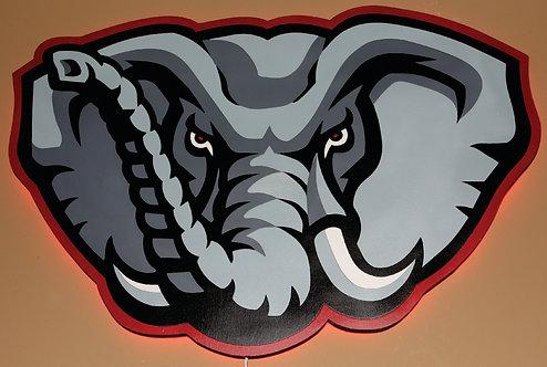 Alabama Elephant Logo