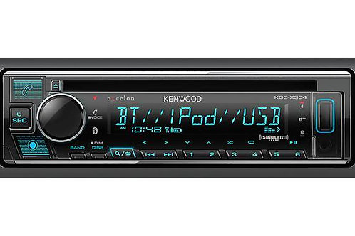 KDC-X304 CD Receiver with Bluetooth