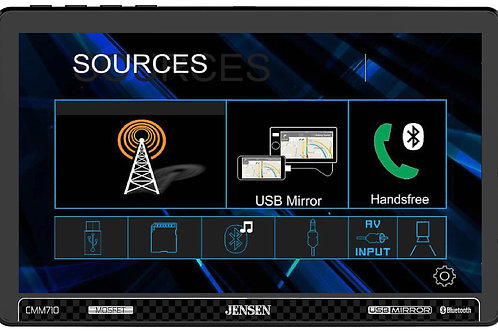 CMM710 Multimedia Reciever with USB Screen Mirroring