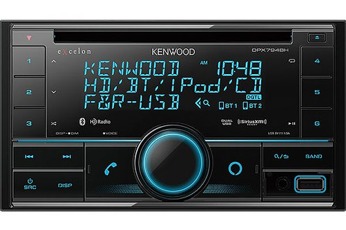 DPX794BH DUAL DIN SIZE CD RECEIVER