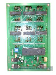 Разработка электронных устройств на заказ, Игровой автомат с системой «Джек Пот» и GSM-блоком дистанционного управления и контроля, Модуль «Джек Пот» (вид снизу)