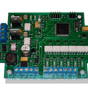 Модуль управления силовым электрооборудованием пожарной (охранной) сигнализации