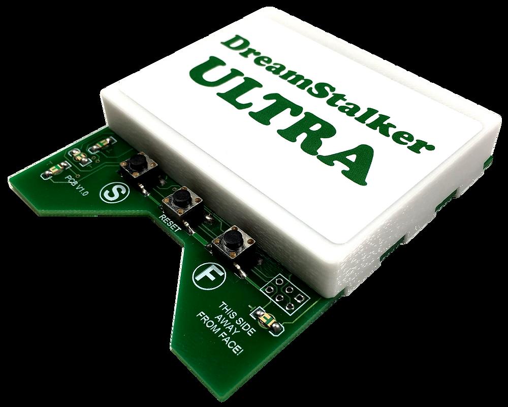Разработка и производство электроники, электронный прибор DreamStalker Ultra, внешний вид без маски