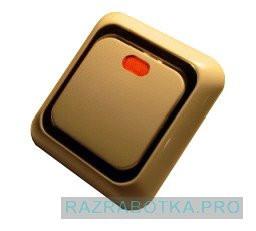 Разработка электроники, Универсальный сенсорный выключатель с дистанционным управлением, Внешний вид выключателя