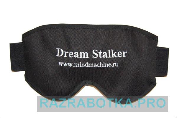 Разработка устройств для осознанных снов, внешний вид маски прибора «DreamStalker»