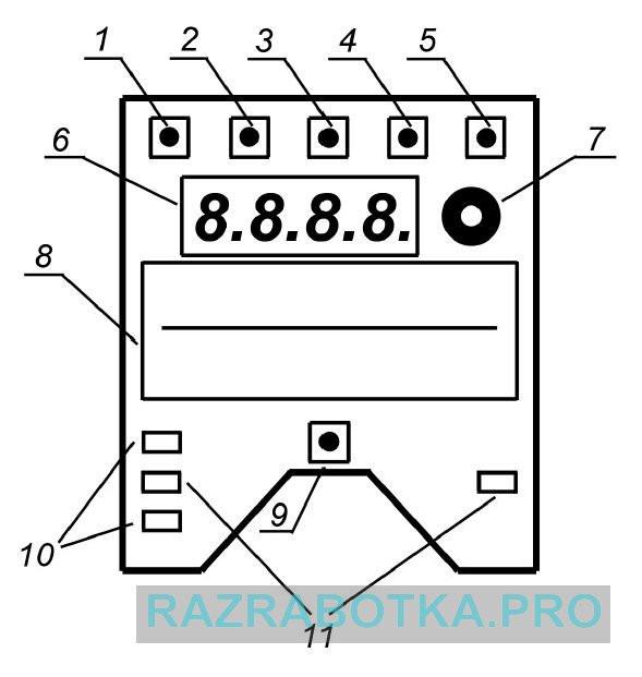 Разработка электроники на заказ для приборов осознанных сновидений, схематичное изображение прибора «DreamStalker»