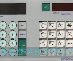 Система управления и мониторинга параметров технологического оборудования химической чистки одежды