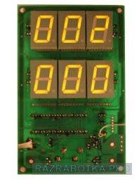 Разработка электроники и изготовление устройств, Игровой автомат с системой «Джек Пот» и GSM-блоком дистанционного управления и контроля, Модуль «Джек Пот» (вид сверху)