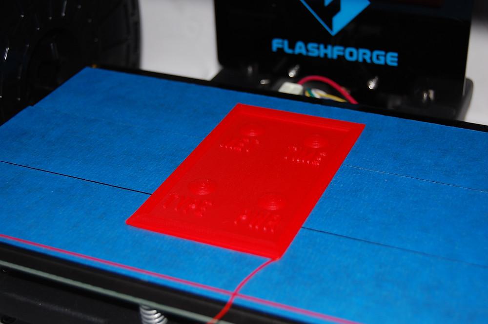 Разработка и производство электронных устройств, Печать клавиатуры на 3D-принтере