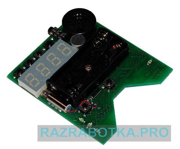 азработка электронных устройств на заказ, Внешний вид электронной платы прибора DreamStalker PRO