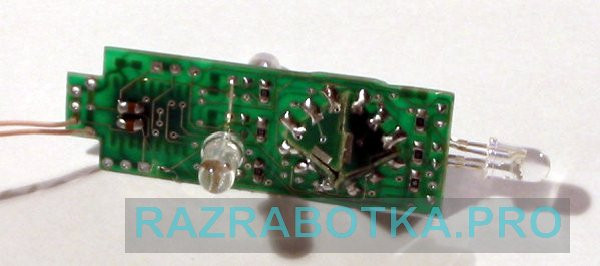 Разработка электроники по техническому заданию, Детская игрушка «Волшебный кубик», Внешний вид платы 2