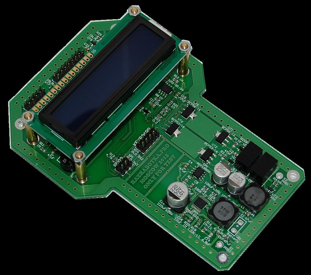 Разработка печатных плат электронных приборов для измерения электропроводности мяса