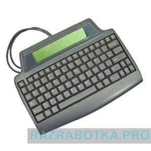 Коммуникатор для обмена короткими текстовыми сообщениями по телефонной линии