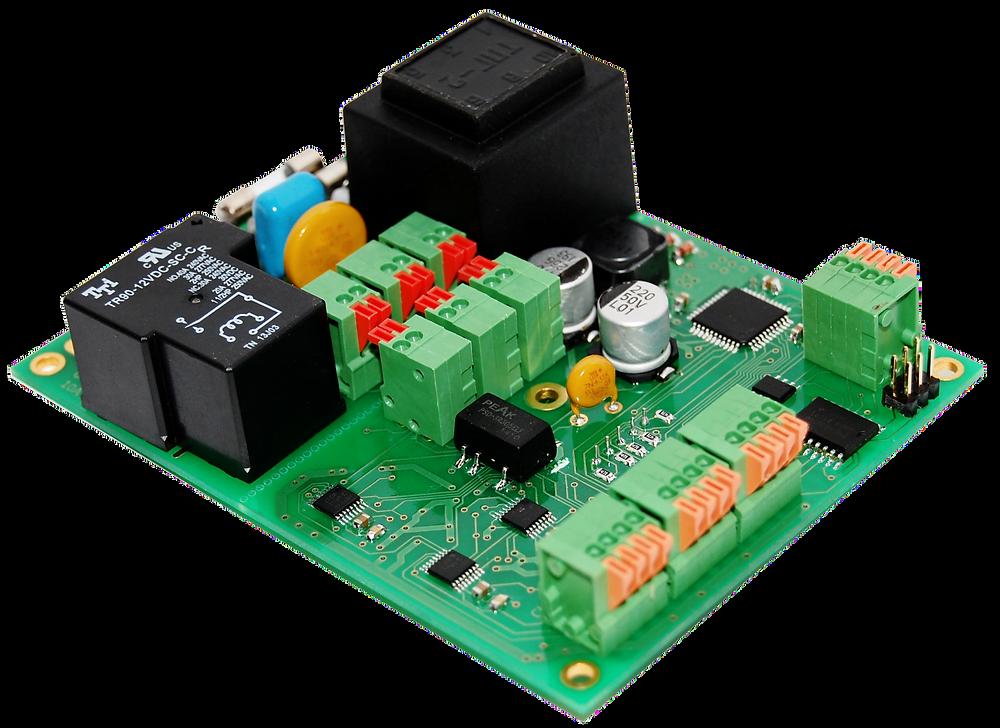 Разработка электронных устройств и производство электроники, плата трехканального терморегулятора
