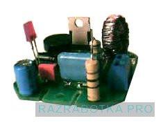 Разработка электронных устройств по техническому заданию, Многофункциональное устройство управления домашними приборами - электронный сенсорный выключатель, Внешний вид устройства