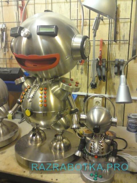Контрактная разработка устройств электроники, Процесс разработки образцов устройств «Говорящий электронный робот «Анекдоша» с автоматической загрузкой анекдотов из сети Интернет