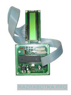 Разработка электроники и производство электронных устройств, Устройство размена купюр для игровых автоматов, Управляющая плата с индикатором