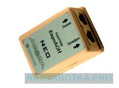 Разработка электроники на заказ, АОН-приставка «NEO» - конвертор в стандарт Caller ID (CLIP) для импортных телефонов, Внешний вид 1