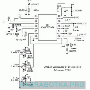 Автоматический 3D контроллер для генерации стереоизображения