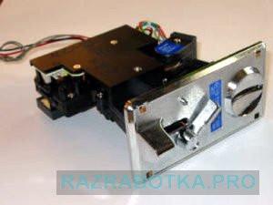 Разработка электронных устройств, Игровой автомат «Столб» с независимой системой игровых каналов, Приемник монет