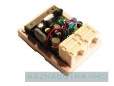 Разработка электронных устройств, АОН-приставка «NEO» - конвертор в стандарт Caller ID (CLIP) для импортных телефонов, Внутреннее устройство приставки 2