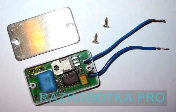 Разработка электроники на заказ, Электронное устройство защиты ламп освещения с автоматическим отключением индуктивной нагрузки, Внешний вид устройства