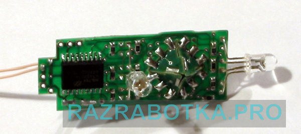 Разработка электроники на заказ, Детская игрушка «Волшебный кубик», Внешний вид платы 1